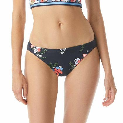 Michael By Michael Kors Floral Border Classic Bikini Bottom