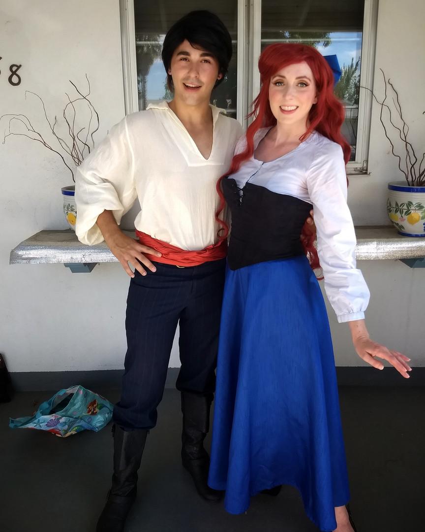 Village Mermaid & Sailor Prince