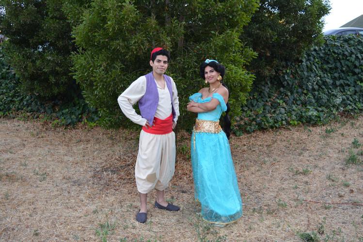 Street Rat & Arabian Princess