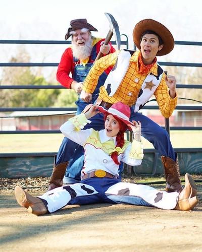 Toy Cowboy, Cowgirl & Prospector