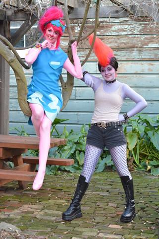 Troll Princess & Rocker Troll Queen