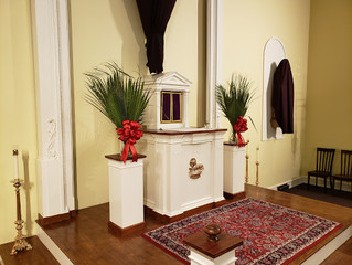 Palm Sunday Sermon: The Hour of the Power of Darkness