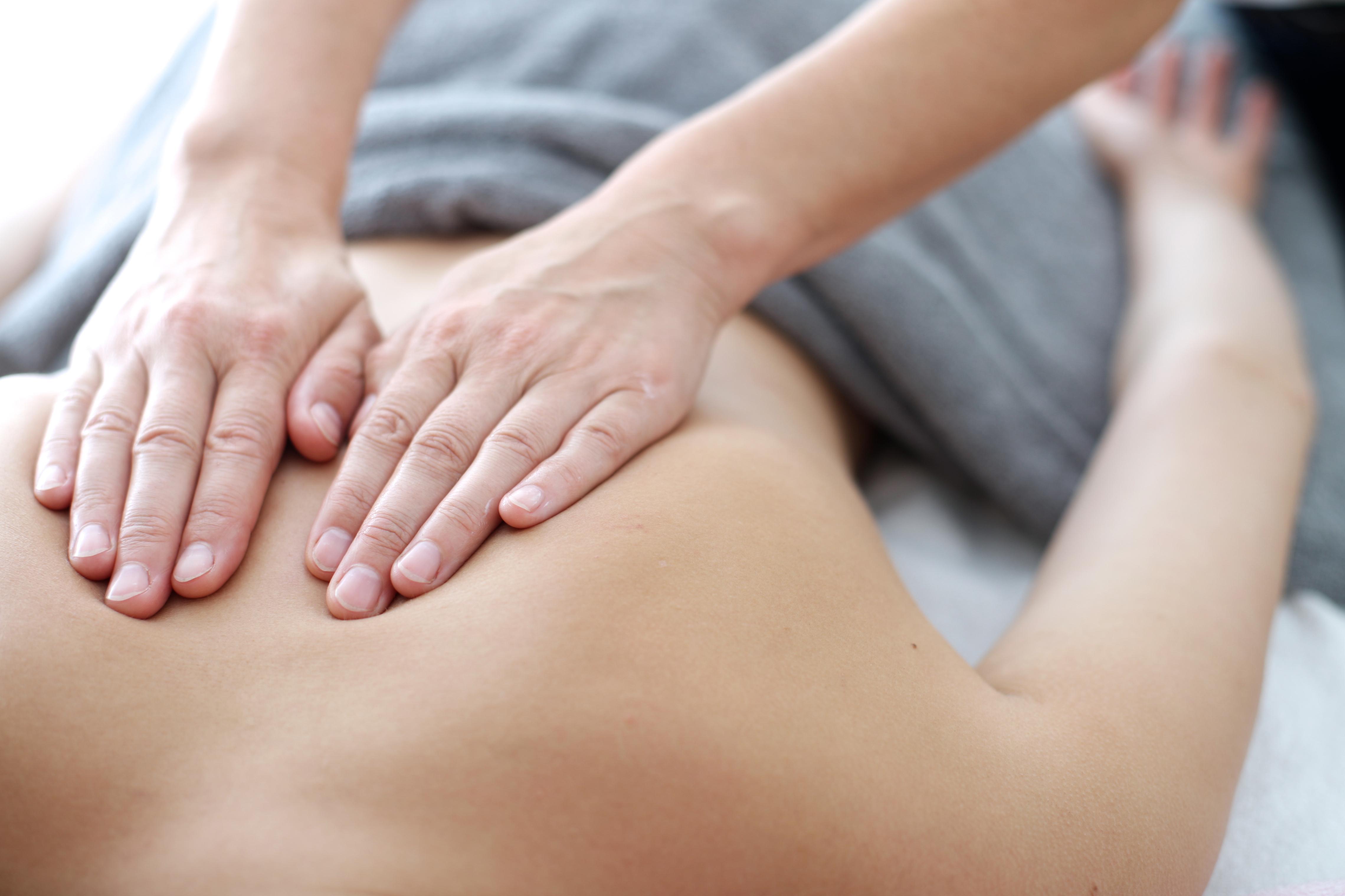 Technique massage back. Massotherapy 86