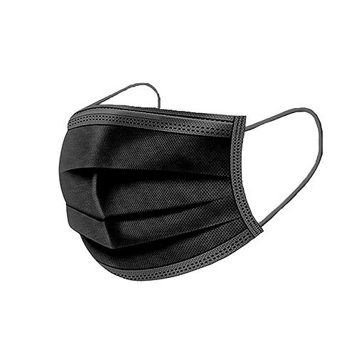 Masques jetables (noir)