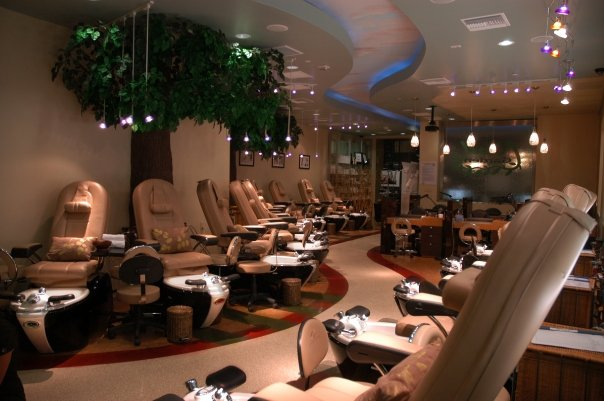 Nail Garden - View from Back of Salon to front