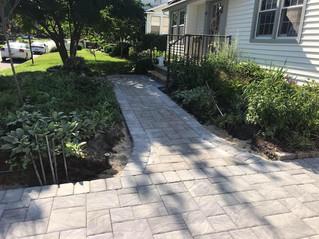 Driveway And Sidewalk Remodel