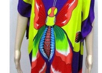 256A - Purple Butterfly Tunic