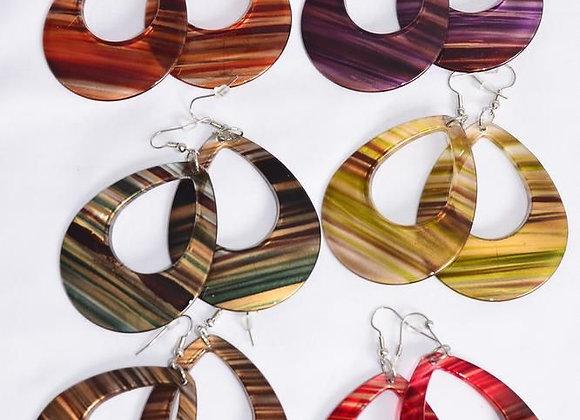 1-Each Multi Color Earring Set