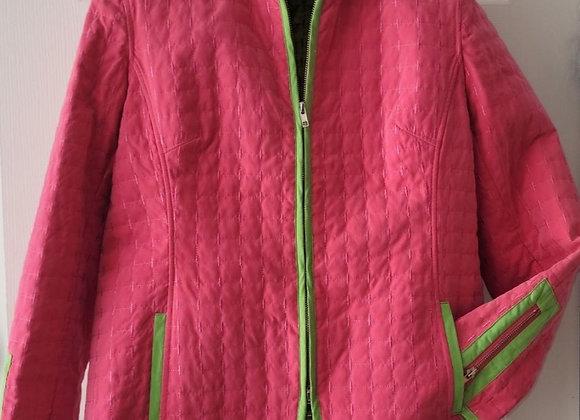 Pink & Green Jacket