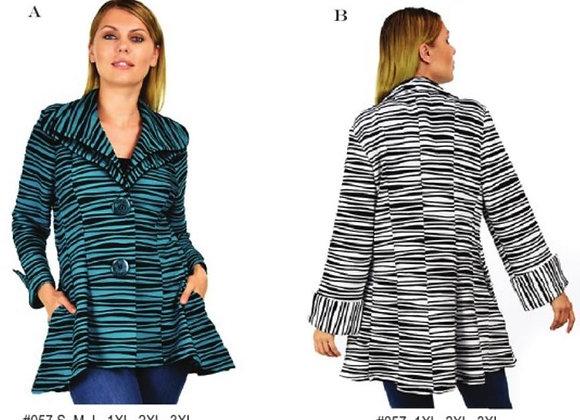 Striped Designer Jacket