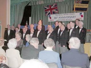 Royal British Legion -Wrington Branch  80th Anniversary Concert