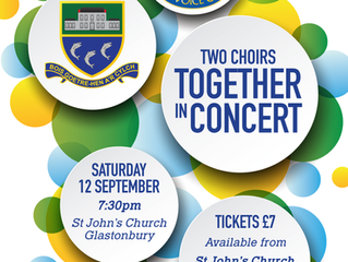 TWO CHOIRS TOGETHER IN CONCERT