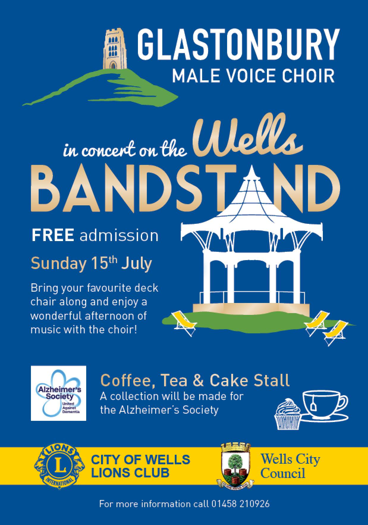 Concert on the Wells Band Stand
