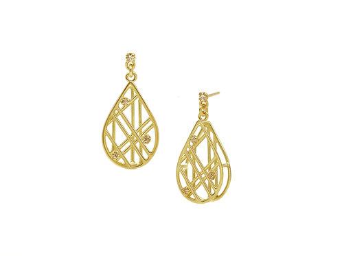Little Drops Diamond Earrings