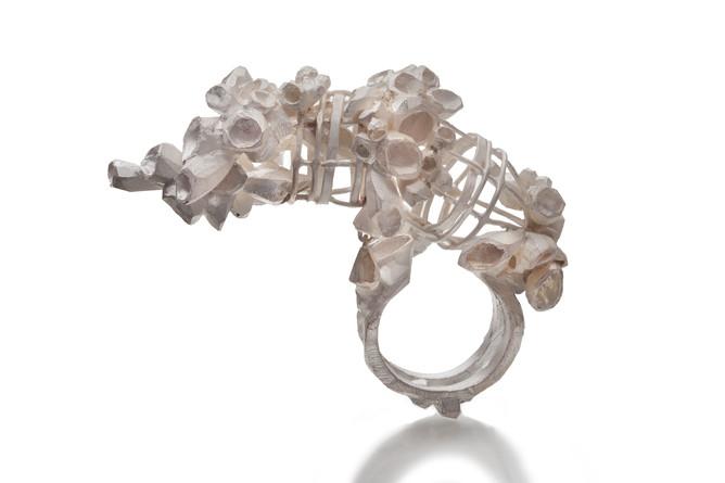Ring, Silver, 2.5_x 2_x 1_, Jee Hye Kwon