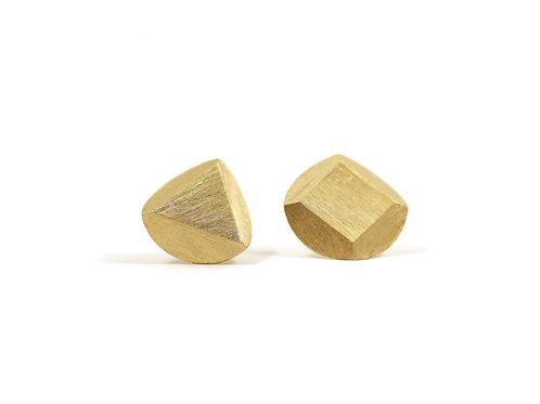 Geometric Mismatched Stud Earrings