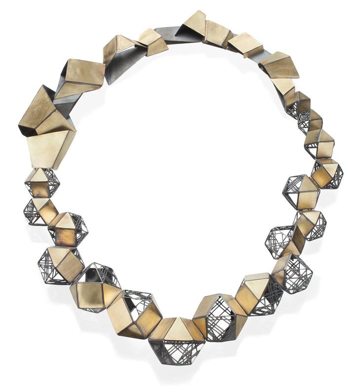 'Folding', Necklace, Jee Hye Kwon, 2016.