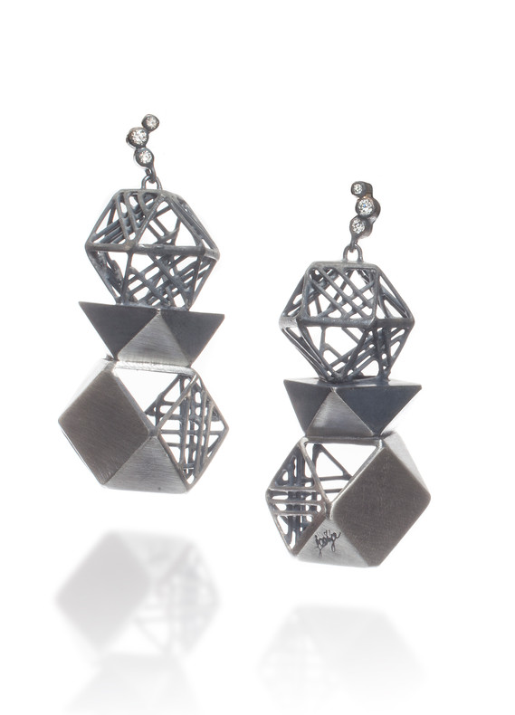 'Visible and Invisible II' , Earring,Jee