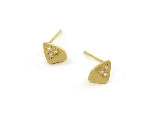 Rock Chip Stud Earrings