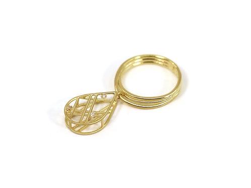 Little Drops Diamond Ring