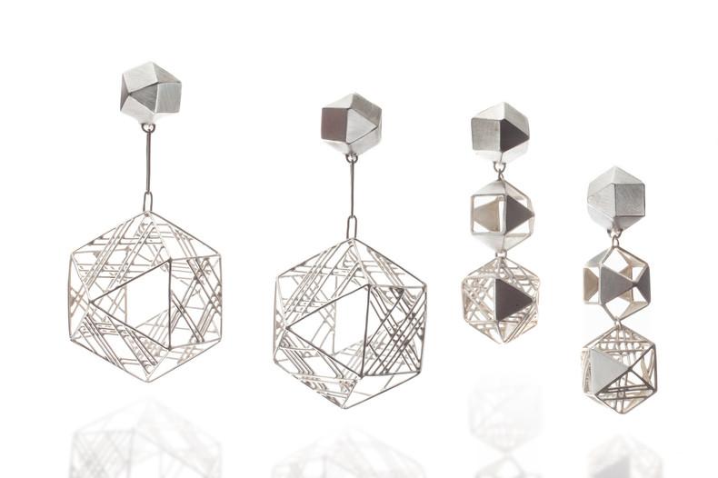 'Geometer', Earrings, Jee Hye Kwon 2016.