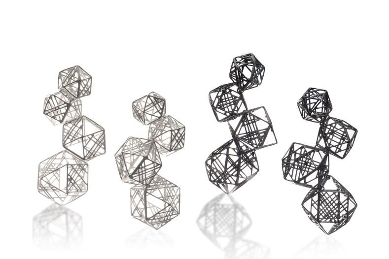 'Geometer II', Earrings, Jee Hye Kwon, 2