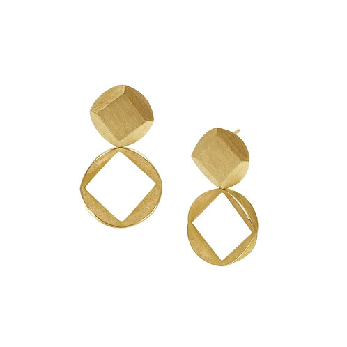 Inverted Square Earrings