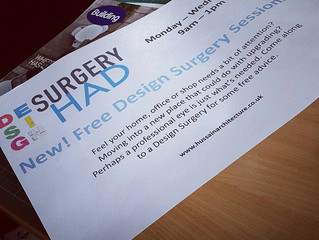 New! Free Design Surgery Sessions at HAD