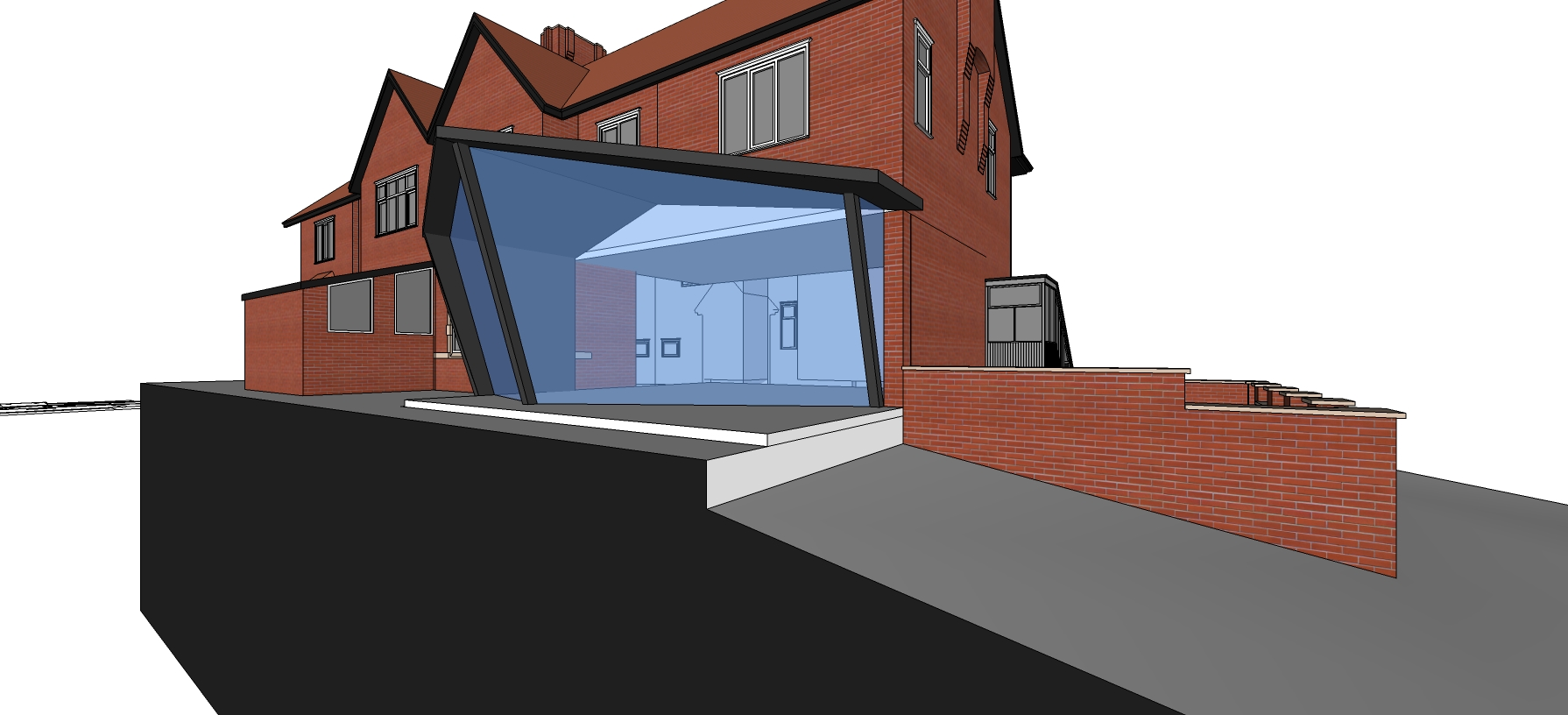 House extension drawings