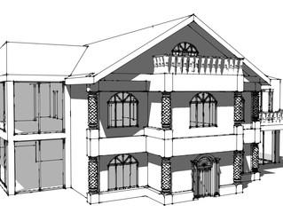 New build 'Castle' project in Altrincham
