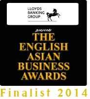 HAD - Finalists for English Asian Business Awards 2014