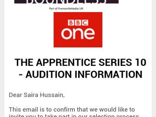 The Apprentice Series 10 Audition