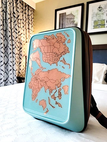 TSTL World Map Backpack