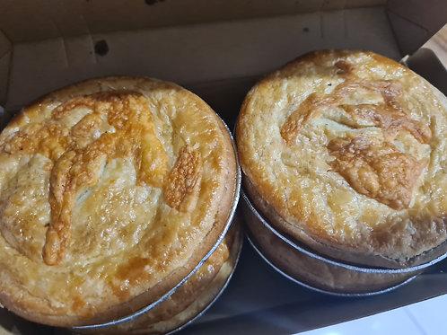 Kiwi Steak & Cheese pie