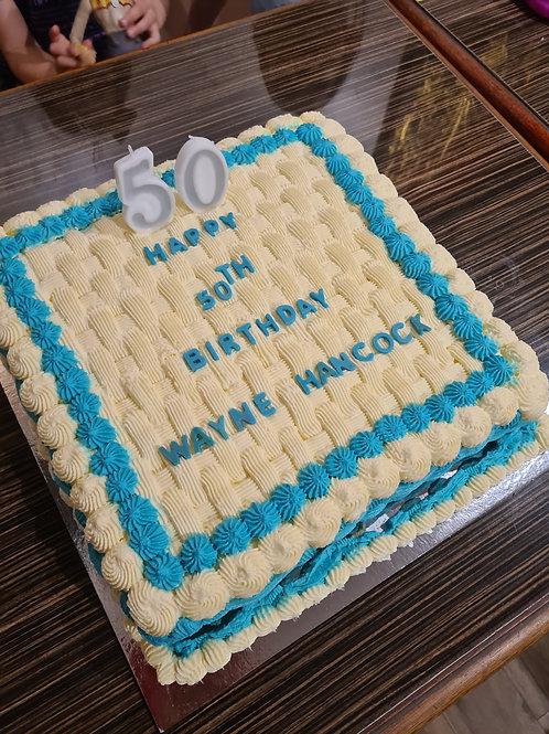 Fresh Cream Birthday Cakes