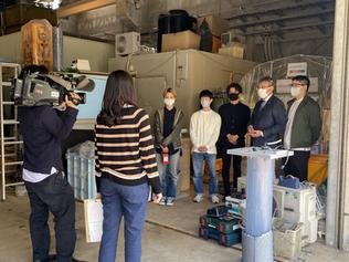 本研究室の水処理技術がテレビ番組で紹介されました。