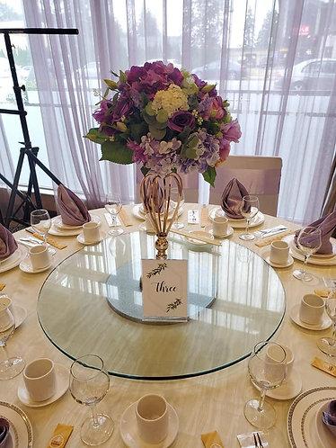 Purple Floral Arrangements