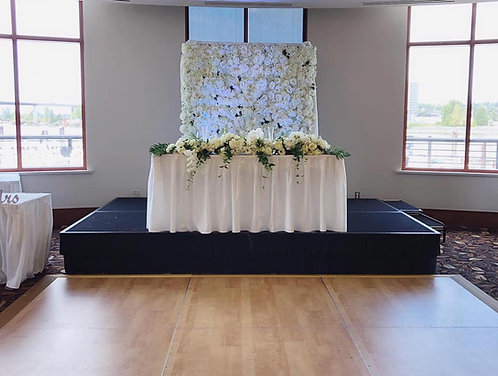 Flower Wall 2 (White)