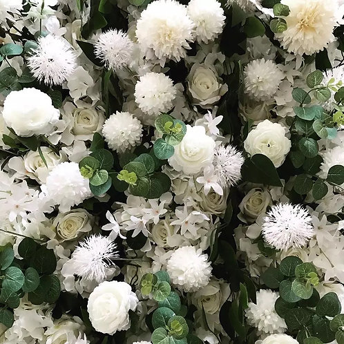 Ivory Lovely Floral Swags