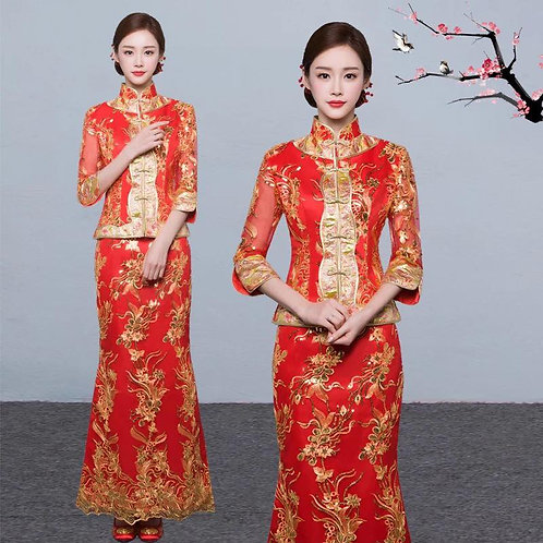 Chinese Wedding Dress S