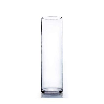 "14.5"" Tall Glass Vase"