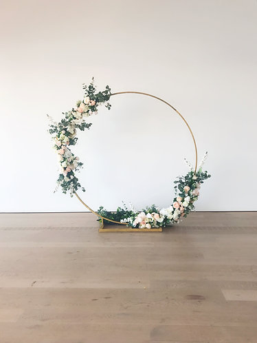 Eternity Floral Arch ( With Floral)