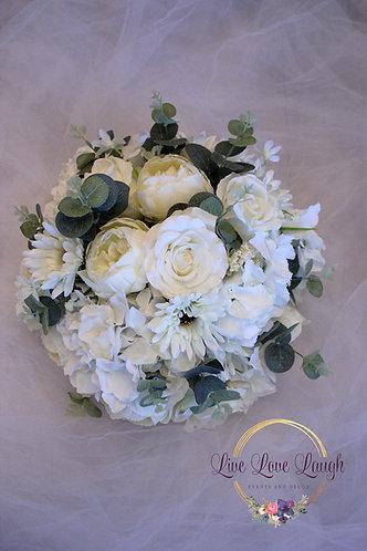 Ivory Floral Arrangements