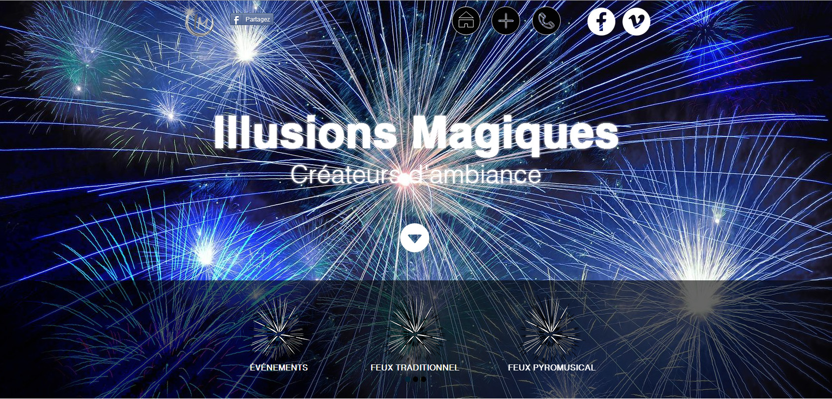 Illusions Magiques Pyrotechnie