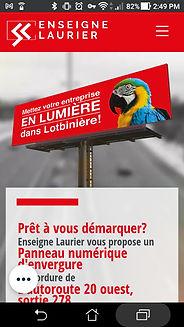 Enseigne Laurier
