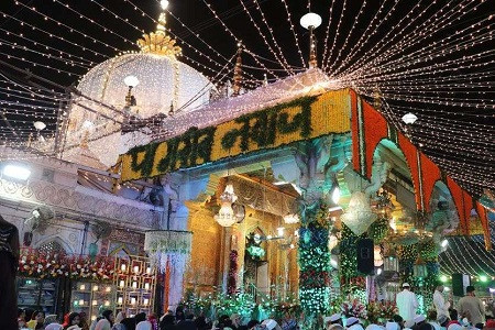 सुल्तानुल हिन्द हजरत ख्वाजा मोइनुद्दीन चिश्ती का 808 व उर्से मुबारक 2 मार्च को  मनाया जायेगा