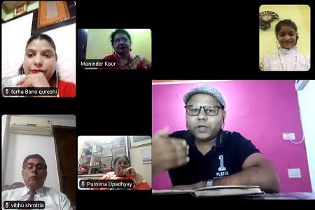 ग्रीन फील्ड्स पब्लिक स्कूल में हिंदी दिवस समारोह पर प्रतिवेदन, गर्व से कहो ,हिंदी है मेरी भाषा