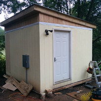 Almost Finished Cooler Shed