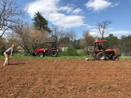 Two tractors get the job done