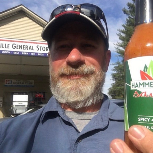 First store to carry Hammered Inn Sauce!